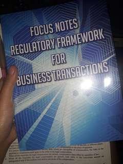Focus notes RFBT