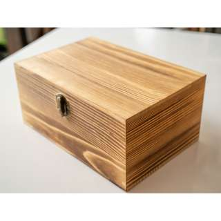 Lock wooden gift box (stock clearance)