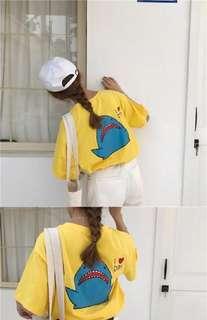 🚚 超級可愛鯊魚上衣