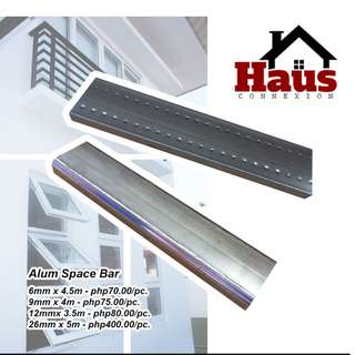 Aluminum Space bar