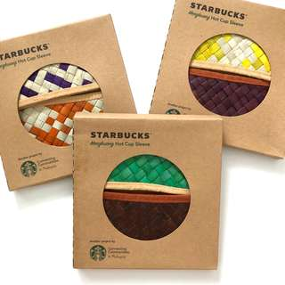 Starbucks Mengkuang Hot Cup Sleeve