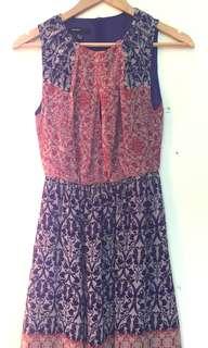 Mango Dress with Pattern