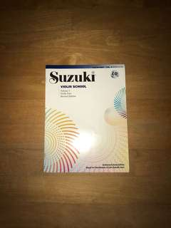 suziki violin school vol 3 book