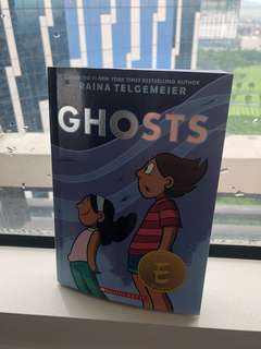 Ghosts book by Raina Telgemeier