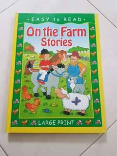😊 Easy to Read - On the Farm Stories