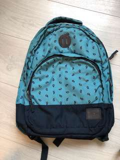 nixon patterned backpack