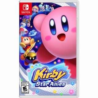 Nintendo Switch Kirby Star Allies