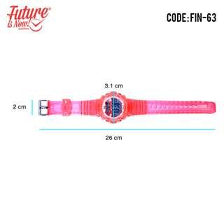 Generic - Jam tangan Fashion pria analog - FIN-63A