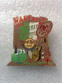 Hard Rock Cafe Pins - HOLLYWOOD (ON BLVD) HOT 2012 CINCO DE MAYO EVENT PIN!