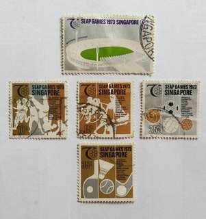 Vintage Singapore Stamps  (Self Collect @ Blk 113 Jur. East St.13,600113)