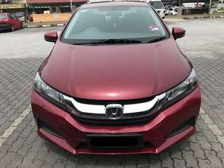 SAMBUNG BAYAR/CONTINUE LOAN  HONDA CITY 1.5 AUTO S SPEC YEAR 2015 MONTHLY RM 860 BALANCE 6 YEARS + ROADTAX OCT 2018 TIPTOP CONDITION  DP KLIK wasap.my/60133524312/city