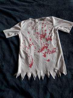 Halloween costume bloody shirt