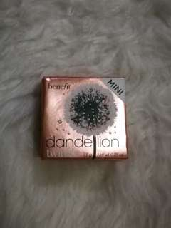 Benefit mini dandelion twinkle (broken powder)