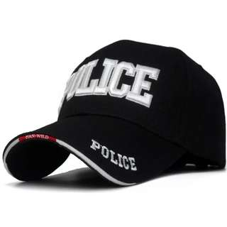 🆕! Maximum Security POLICE Trucker Baseball Cap   #OK