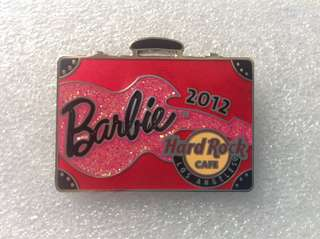 Hard Rock Cafe Pins - LOS ANGELES HOT 2012 BARBIE CONVENTION PIN!