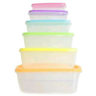 Kotak makan set crisper