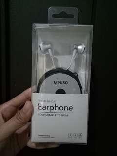 Miniso Earphone Silver