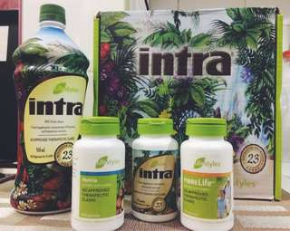 LifeStyles Products: Intra, Nutria, FibreLife