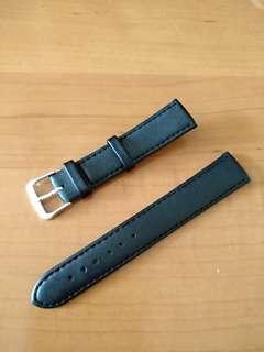 18mm 黑色手錶帶