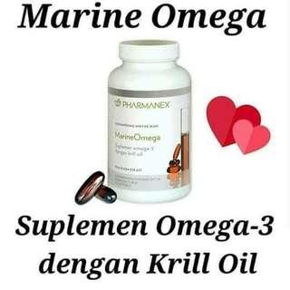 Marine omega NuSkin dengan Krill Oil