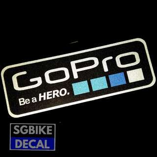 GoPro Reflective Waterproof decal