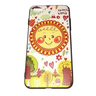 Sun Embossed iPhone Case 6 6s 7 8 plus