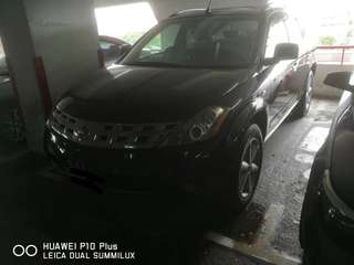 Nissan Murano 2.5A with sunroof