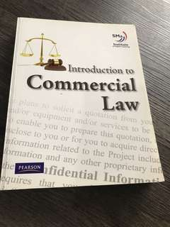 Commercial law text book