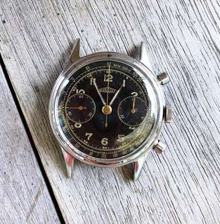Angelus Vintage Gilt Chronograph