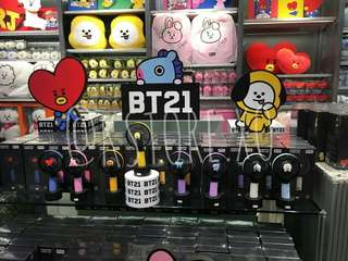 BT21 CHARACTER FAN