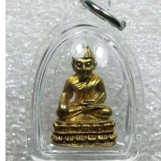 Phra Chaiwat Chinabanchorn (for wealth and fortune) of LP Toon Wat Kao Noi Kiliwon. (Thai amulet)