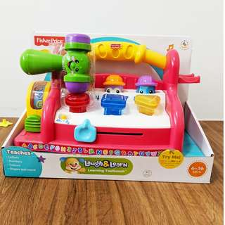 Fisher Price Laugh And Learn Toolbench BNIB