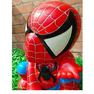 spiderman coin bank 25cm