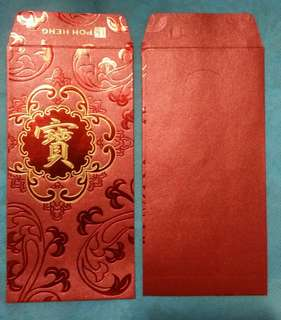 6 pcs Poh Heng Jewellery Red Packets
