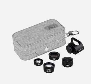 每一個人手機都可以變單反! Momax X-Lens PRO 4合1鏡頭系列