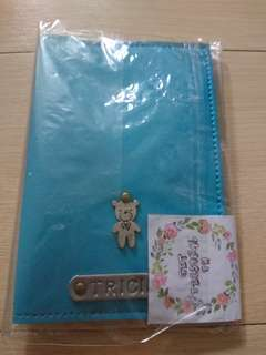"Personalized ""Tricia"" Passport Holder with Charm"