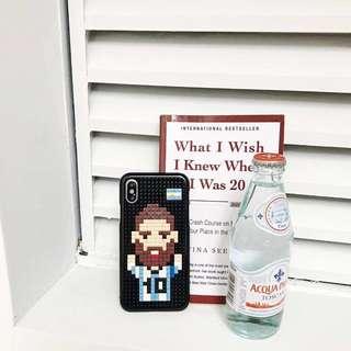 手機殼圖案自己砌!100%全新!Miniblock Phone Case Messi C Ronald World Cup 保護殻 可選7 7plus 8 8plus and X Huawei xiaomi 手機殼 手機套 電話套 LEGO phone case 美斯 c朗 積木