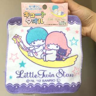 Little Twin Stars 小手帕 毛巾