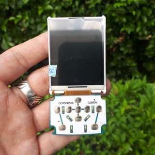LCD Plus Konektor Keypad Samsung SGH-J800 Luxe Jadul