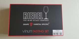 Riedel Vinum wine tasting set of 4