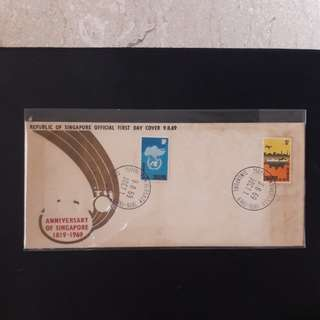 Singapore 1969 First Day Cover