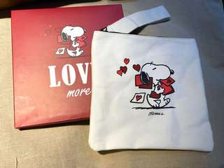 Snoopy Zipper Bag