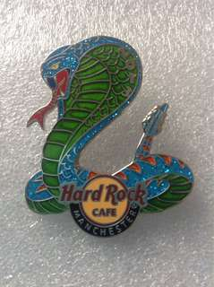 Hard Rock Cafe Pins - MANCHESTER HOT 2013 YEAR OF THE SNAKE PIN!