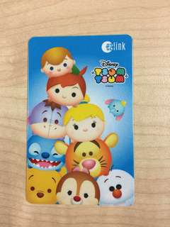 Tsum Tsum Ezlink Card with 7$ load