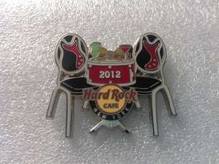 Hard Rock Cafe Pins - NEW YORK HOT 2012 TASTE OF TIMES SQUARE PIN!