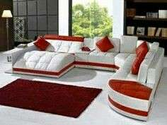 Furniture ruang tamu-Kursi sudut sofa minimalis