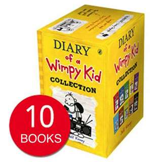 DIARY OF A WIMPY KID COLLECTION (10 BOOKS)