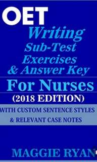 OET for Nurses who Failed at Writing Only 2018