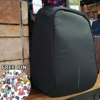 Tas Ransel Anti Maling XDesign tahan air Backpack ANTI THEFT waterprof - Hitam