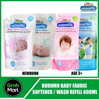 KODOMO BABY FABRIC WASH/SOFTENER 600ML REFILL